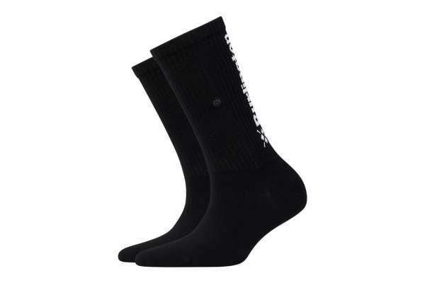 Burlington Black Logo Damen Socken