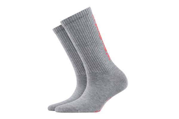 Burlington Black Logo Herren Socken