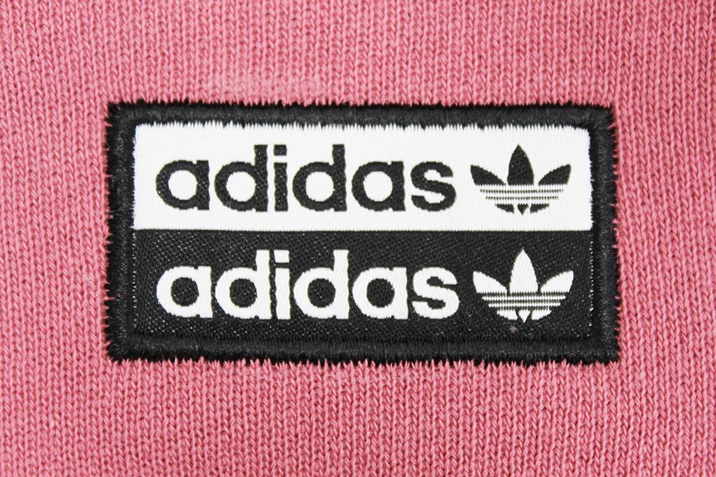 adidas rosa sweatshirt doppeltes logo
