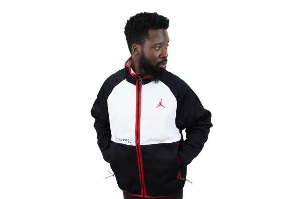 Nike Jordan AJ11 Polartec Zip-Jacke