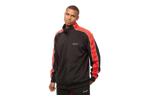 Sean John Classic Logo Neoprene Track Jacket
