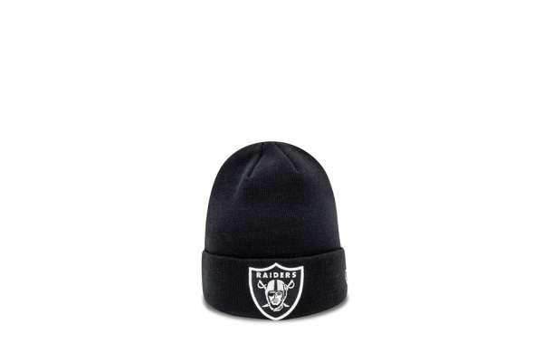 New Era Oakland Raiders Essential Cuff-Beanie