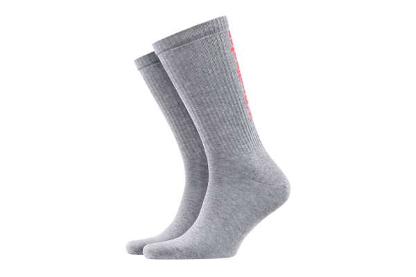 Burlington Black Logo Damen Socken