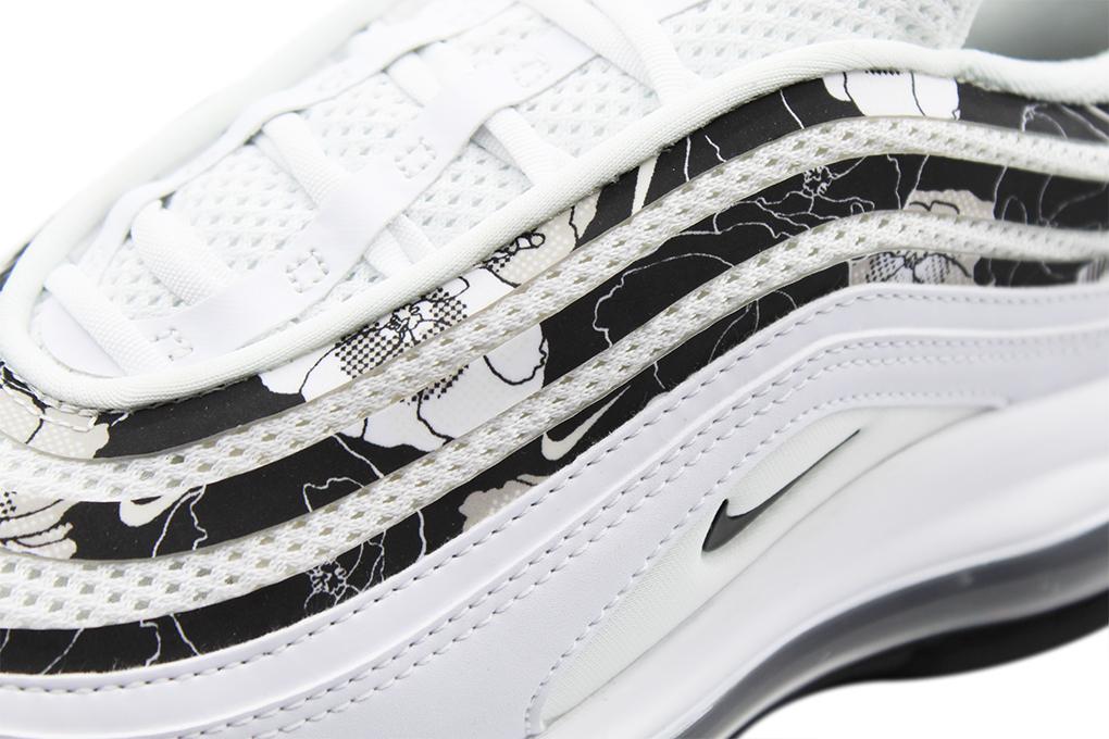 BV0129 100 Damen Schuhe Nike Air Max 97 SE Floral WeißSchwarz