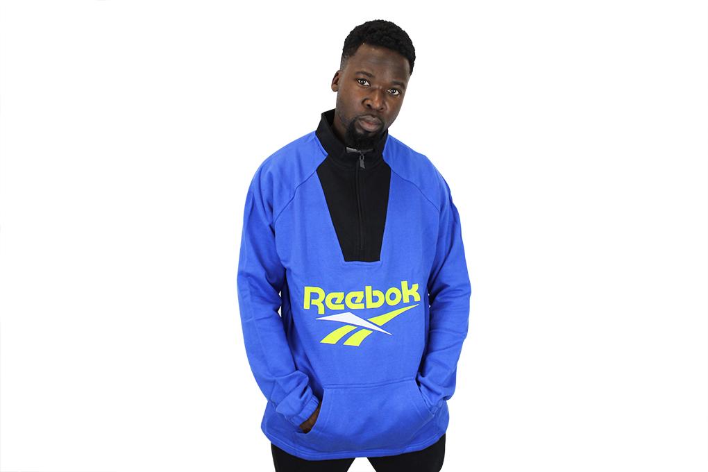 37b93603659 Preview  Reebok Vector Quarter-Zip Sweatshirt ...