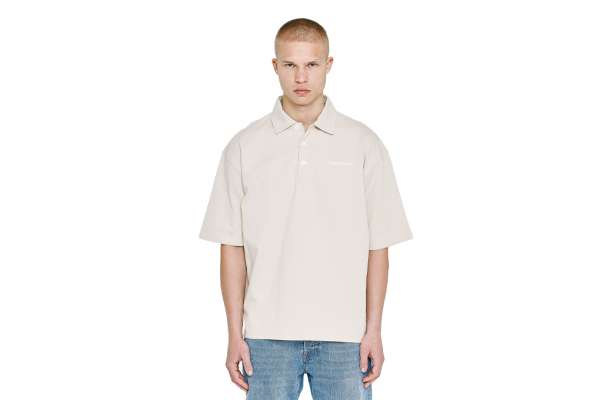 Pegador Logo Oversized Polo Shirt