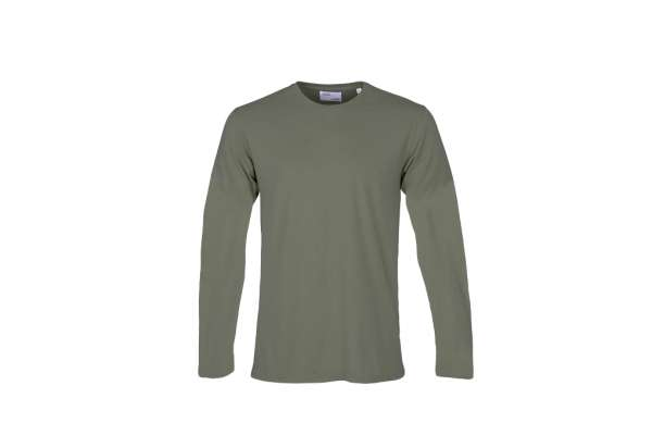 COLORFUL STANDARD CLASSIC ORGANIC LS TEE - DUSTY OLIVE