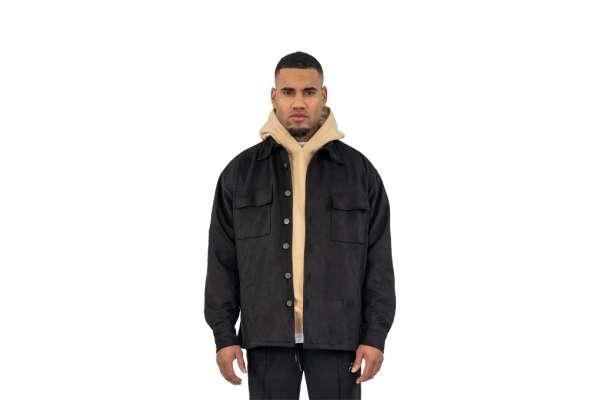 Pegador Suede Oversized Jacket
