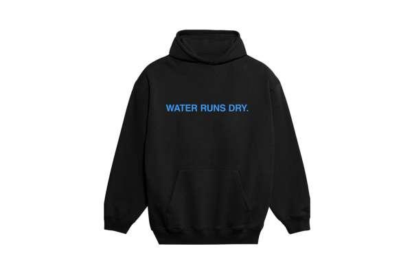 9N1M SENSE Water Runs Dry Hoodie