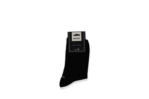 Snocks Sport Socks Black