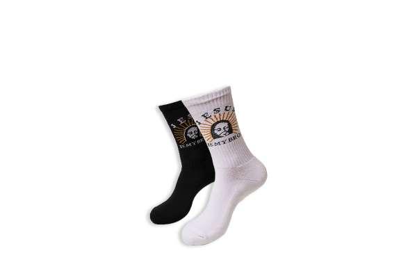 Urban Classics Jesus Is My Bro Socks 2-Pack