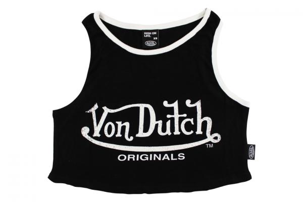Von Dutch Originals Ashley Cropped Top
