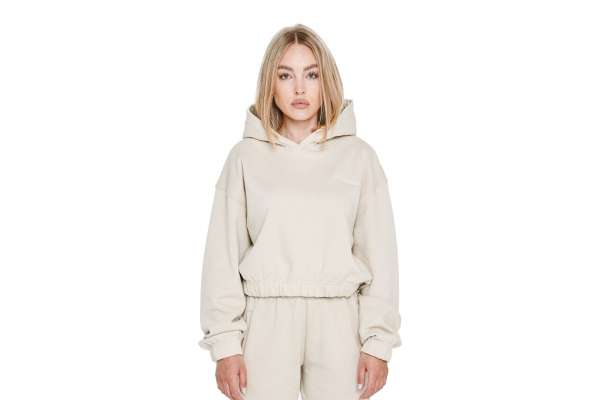 Pegador Kim Oversized Cropped Hoodie