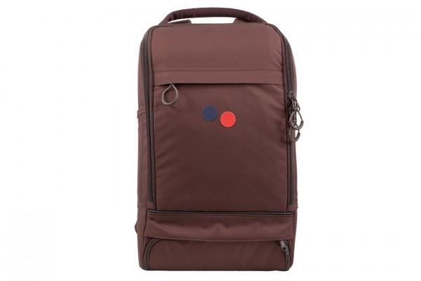 pinqponq Cubik Medium Backpack Maple Maroon