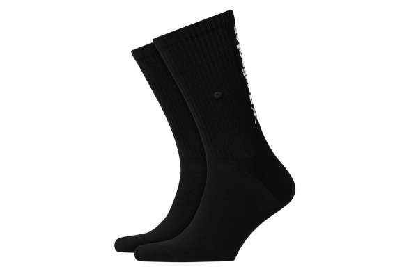 Burlington Black Logo Herren Socken