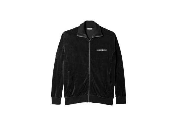 9N1M SENSE Velour Track Jacket