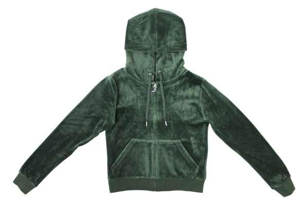 Juicy Couture Through Hoodie ZIp