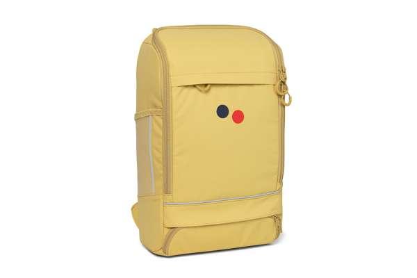 pinqponq Cubik Medium Backpack Butter Yellow