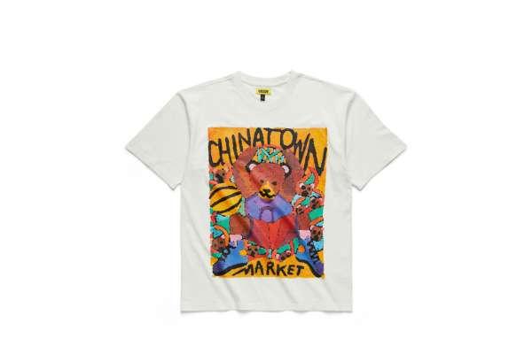 Chinatown Market Dunking Bear Watercolor T-Shirt