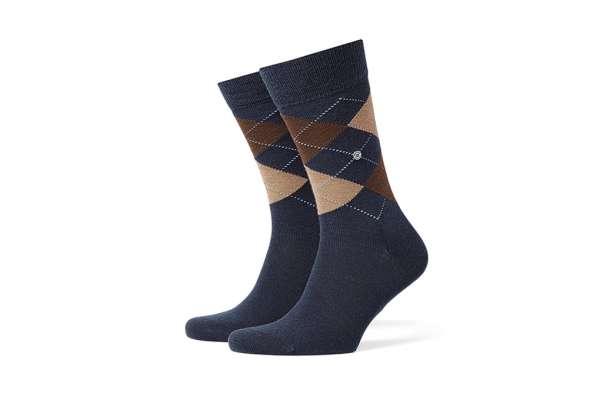 Burlington Edinburgh Herren Socken