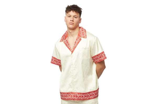 Sean John Classic Logo AOP Resort Shirt