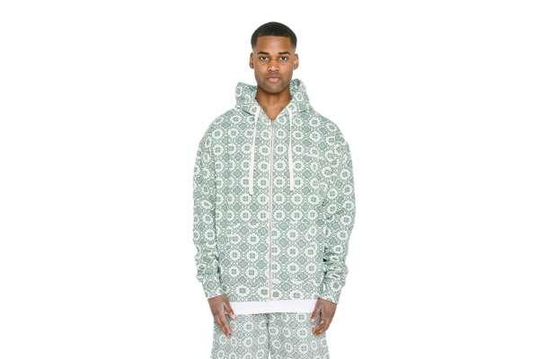 Pegador Mosaic Oversized Sweat Jacket