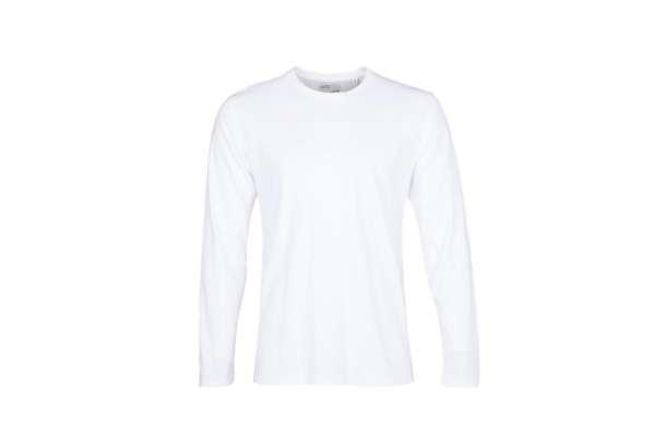 COLORFUL STANDARD CLASSIC ORGANIC LS TEE - OPTICAL WHITE