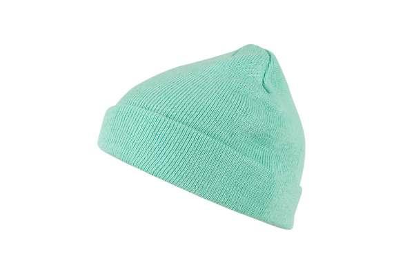 MSTRDS Short Pastel Cuff Knit Beanie