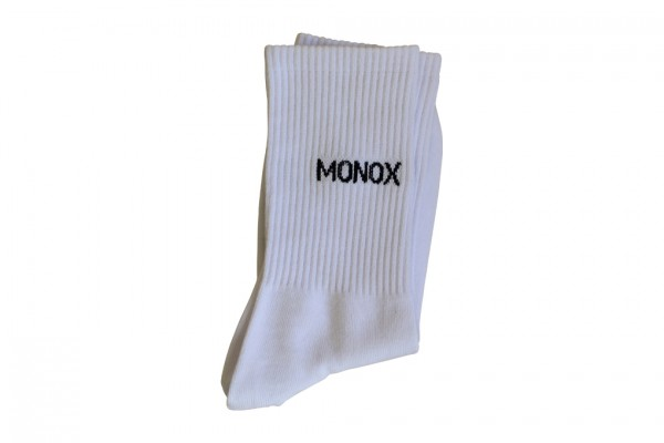 Monox Retro Socks White