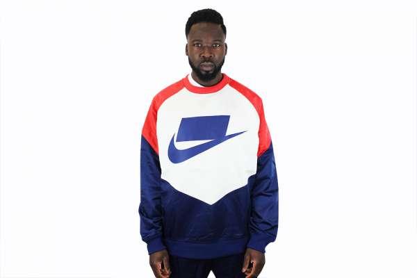 Nike Sportswear Crewneck Woven Sweatshirt
