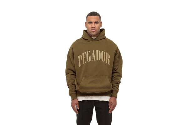 Pegador Cali Oversized Hoodie Washed