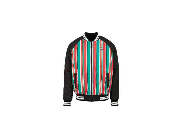 Southpole Stripe College Jacket